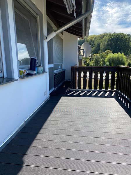 Balkonsanierung mit WPC Belag